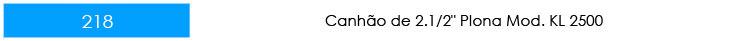 CANHÃO-PLONA-PLN40