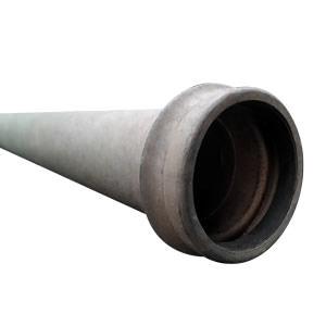 Tubo de ferro galvanizado 5'' engate rápido
